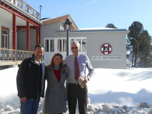Visita à LEYSIN AMERICAN SCHOOL IN SWITZERLAND