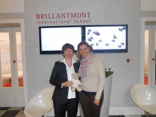 Visita à BRILLANTMONT INTERNATIONAL SCHOOL